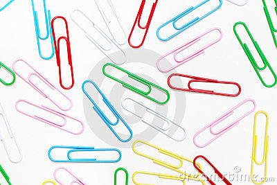 Paper-clip background