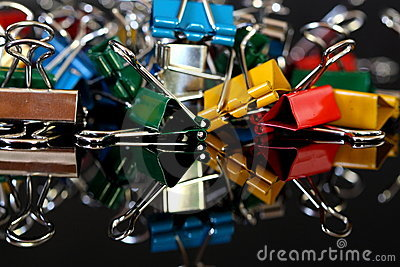 Paper Clips D Royalty Free Stock Images - Image: 22996949