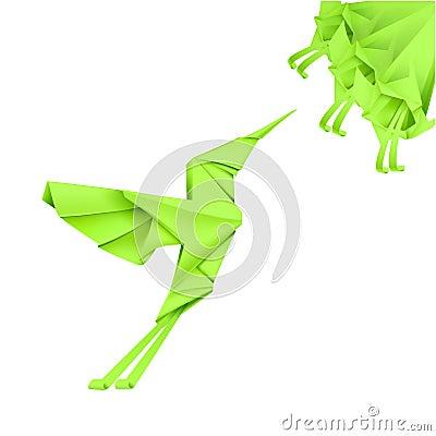 Paper Colibri