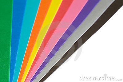 Paper color spectrum
