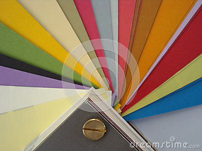 Paper colors background
