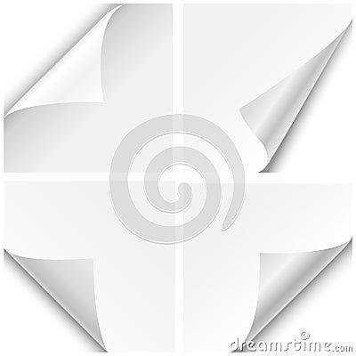 Paper Corner Folds