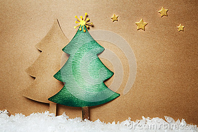 Paper craft Chsitmas trees