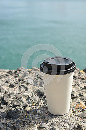 Free Paper Cup Of Coffee Stock Image - 87660571