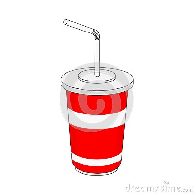 Free Paper Cup Soft Drink Icon Royalty Free Stock Photography - 122345317