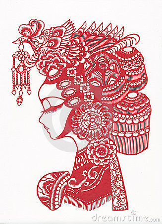 Free Paper-cut Of Chinese Traditional Pattern Stock Images - 8671904