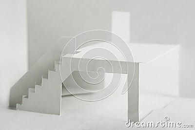Paper cutout composition