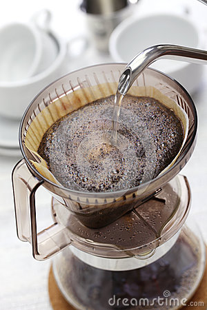 Free Paper Drip Coffee Royalty Free Stock Image - 77263976