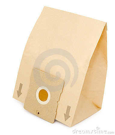 Paper dust bag for vacuum cleaner