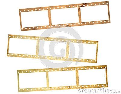 Paper film stripes