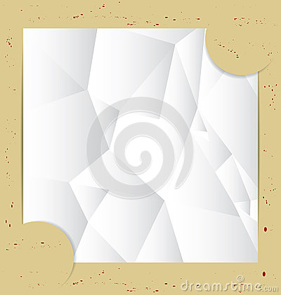 Paper Fold Background