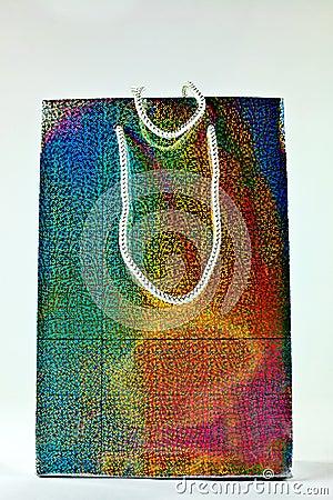 Shiny gift bag