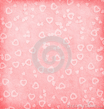 Paper with hearts