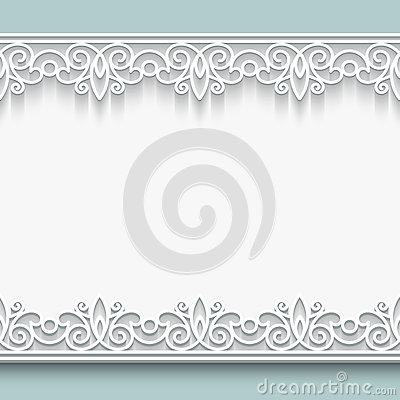 Free Paper Lace Frame Royalty Free Stock Photos - 38865988
