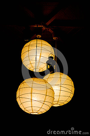 Free Paper Lamps Stock Photo - 32266380