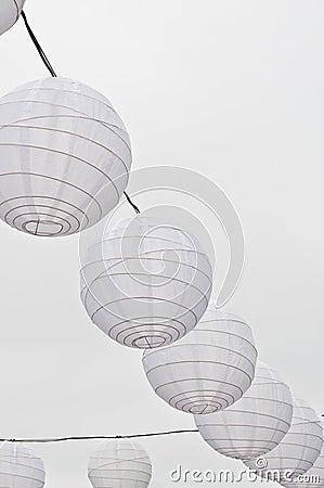 Free Paper Lanterns Stock Photography - 15100842