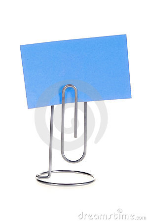 Paper Note on Memo Holder