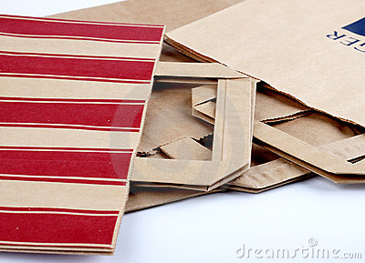 Paper packs with holders