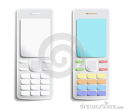 Paper phones.