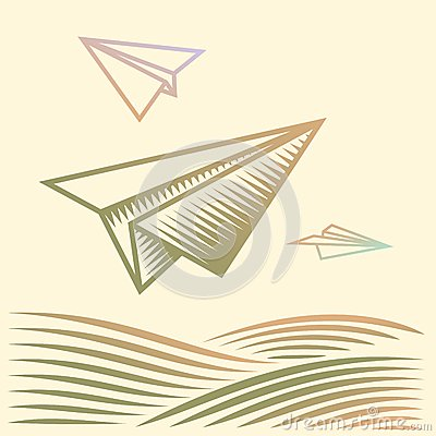 Paper planes