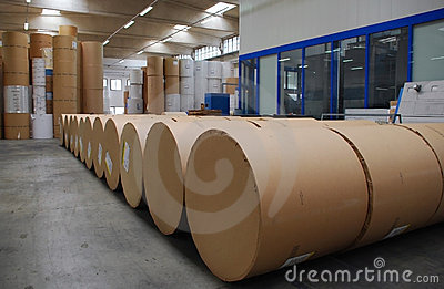 Paper and pulp mill - Paper stock