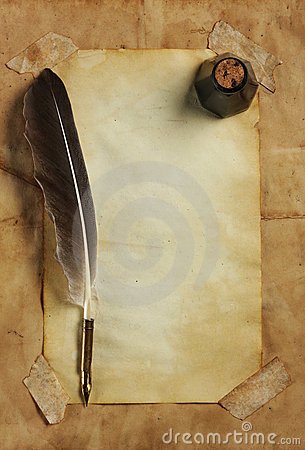Paper, quill & ink