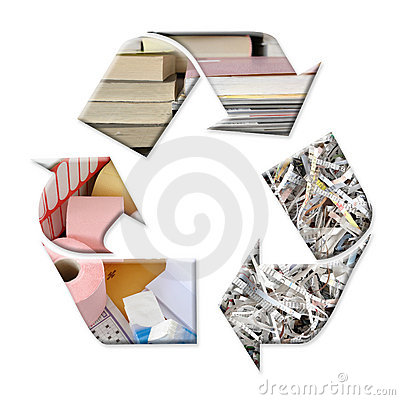 Free Paper Recycling Stock Photography - 1992202