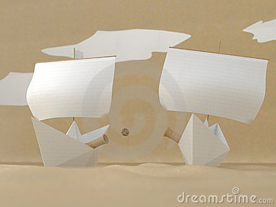 Paper sea battle