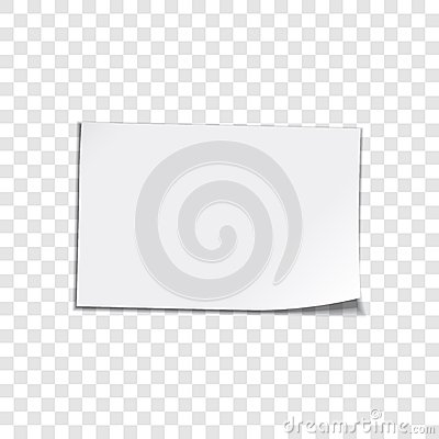 Free Paper Sheet On Transparent Background Royalty Free Stock Image - 43244266