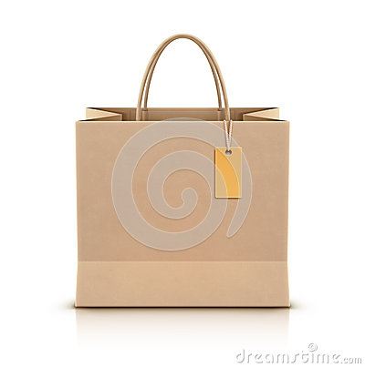 Free Paper Shopping Bag Stock Photography - 27458132