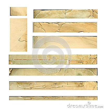 Paper stripes scann 600dpi