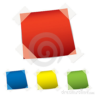 Free Paper Tag Tape Royalty Free Stock Photography - 18911277