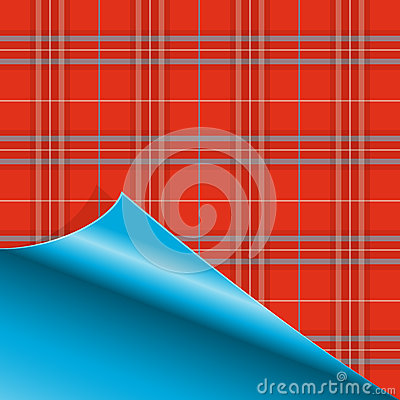 Paper with Tartan pattern