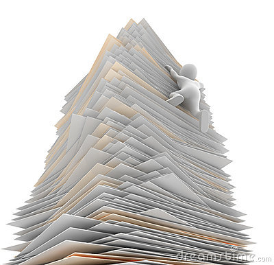 Free Paper Tower Stock Image - 17696231