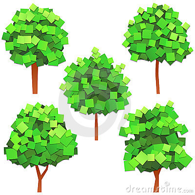 Free Paper Trees Stock Photo - 20719420