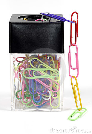 Free Paperclips Royalty Free Stock Images - 313489
