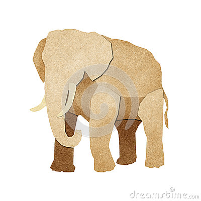 Papercut Elephant Recycled Paper