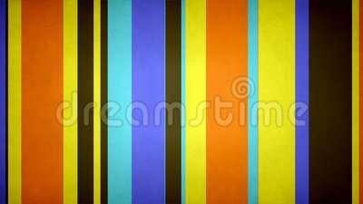 Paperlike Multicolor Stripes 29 // 4k 60fps Pop Colors Texture Bars Motion Background Video Loop stock footage