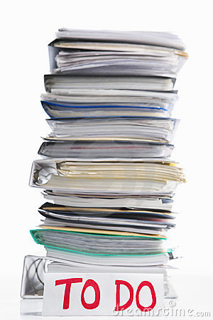 Paperwork to do