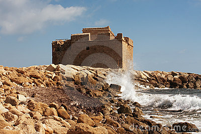 Paphos castle