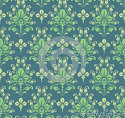 papier peint baroque vert sans joint photo stock image 15860430. Black Bedroom Furniture Sets. Home Design Ideas