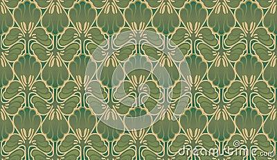 papier peint d 39 art nouveau images stock image 31883994. Black Bedroom Furniture Sets. Home Design Ideas