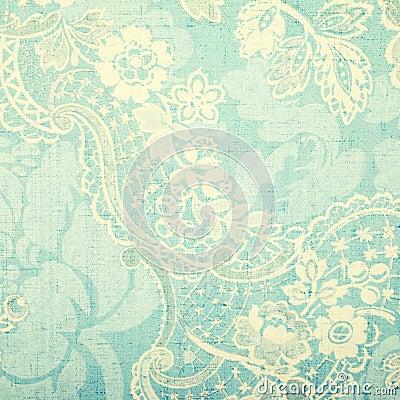 Papier peint de bleu de vintage photo stock image 51005019 - Papier peint vintage bleu ...