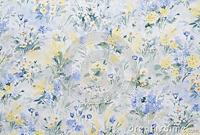papier peint fleuri photo stock image 27622340. Black Bedroom Furniture Sets. Home Design Ideas