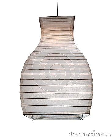 papierlampe stockfotografie bild 11668542. Black Bedroom Furniture Sets. Home Design Ideas