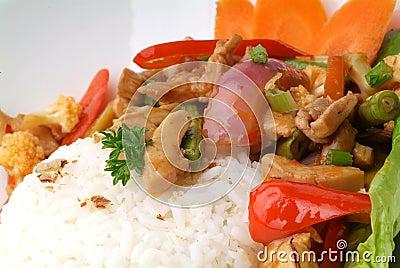 Paprick rice