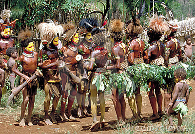Papua New Guinea Editorial Photography