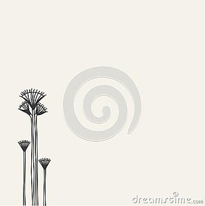 Papyrus growing