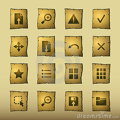 Papyrus viewer icons