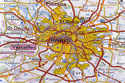 París en la correspondencia